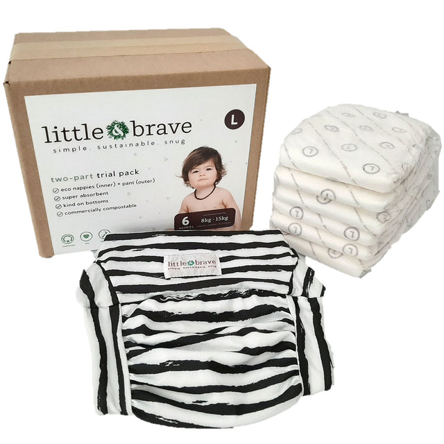 Little & Brave Trial Pack Large