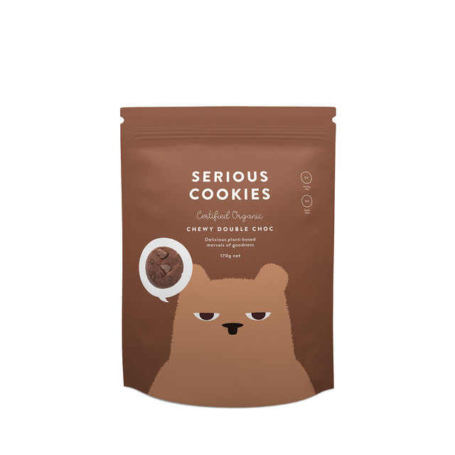 Serious Food Co. Double Chocolate Cookies