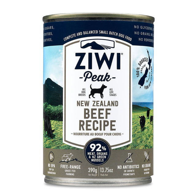 Ziwi Peak Wet Beef Recipe for Dog