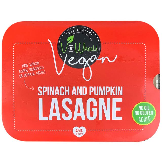 V on Wheels Vegan Lasagne