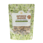 Superseed Crackers Garlic Rosemary Crackers