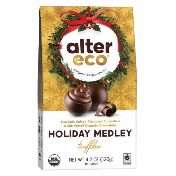 Alter Eco Organic Holiday Medley Truffles
