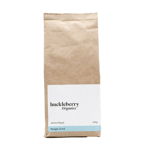 Huckleberry Organics Plunger Coffee Intense Roast