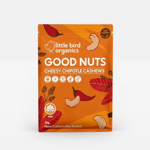 Little Bird Good Nuts Cheesy Cashews