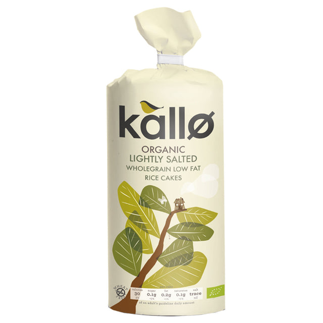 Kallo Organic Salted Rice Cakes