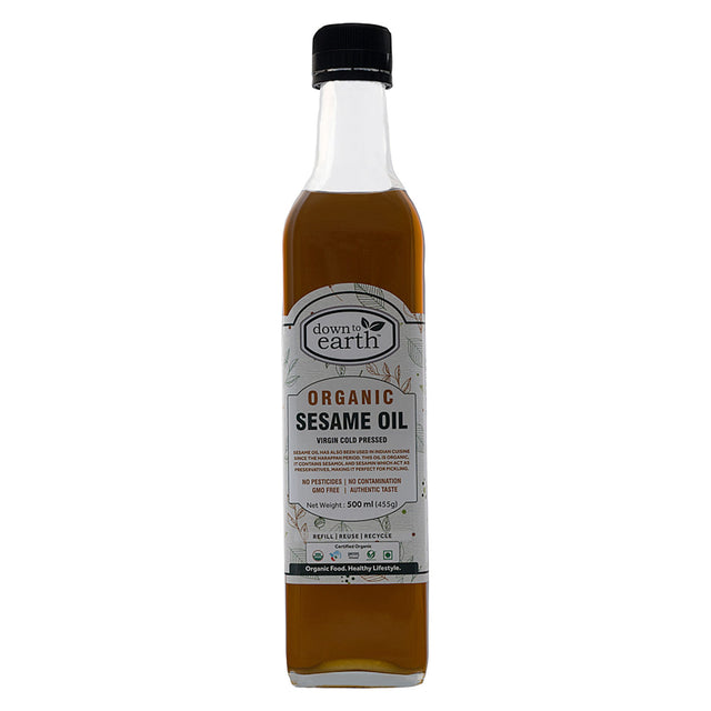 Down To Earth Organic Sesame Oil