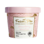 Frozen Bliss Organic Strawberry Coconut Ice Cream