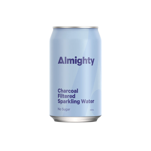 Almighty Charcoal Filtered  Sparkling Water
