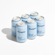 Almighty Charcoal Filtered Sparkling Water 6 pack