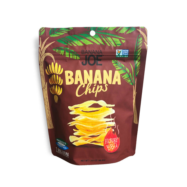 Banana Joe Hickory BBQ Banana Chips