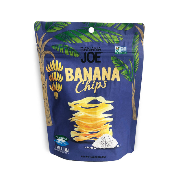 Banana Joe Sea Salt Banana Chips