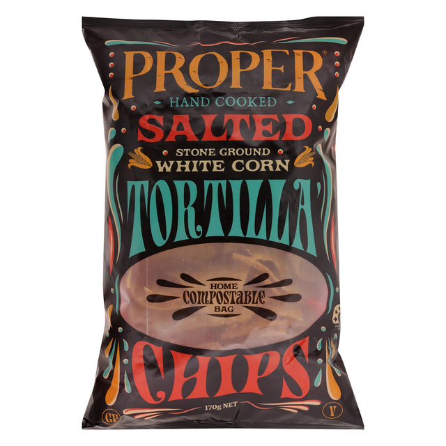 Proper Tortilla Chips Salted