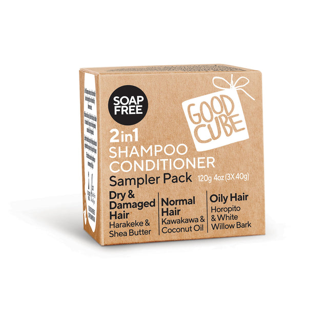 Good Cube Shampoo Conditioner Sampler