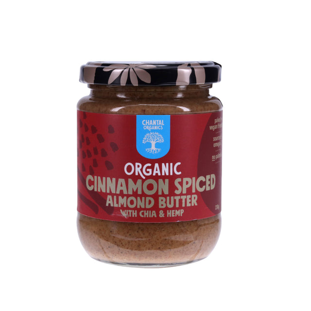 Chantal Organic Cinnamon Spiced Almond Butter