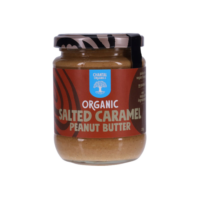 Chantal Organic Salted Caramel Peanut Butter