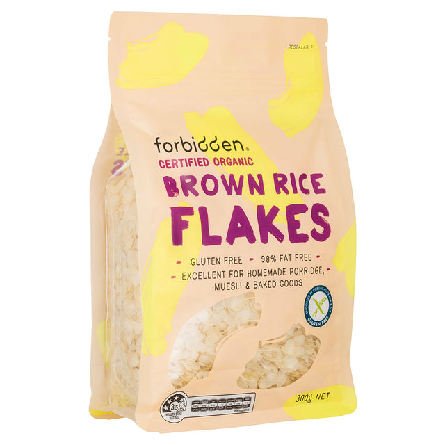 Forbidden Foods Organic Brown Rice Flakes