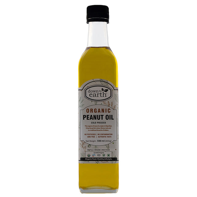Down to Earth Organic Peanut Oil