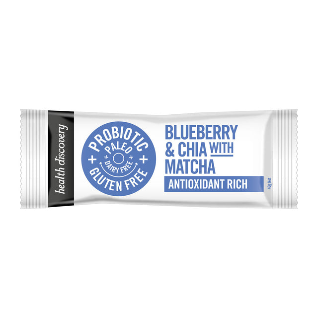 Health Discovery Blueberry & Chia Antioxidant Bar