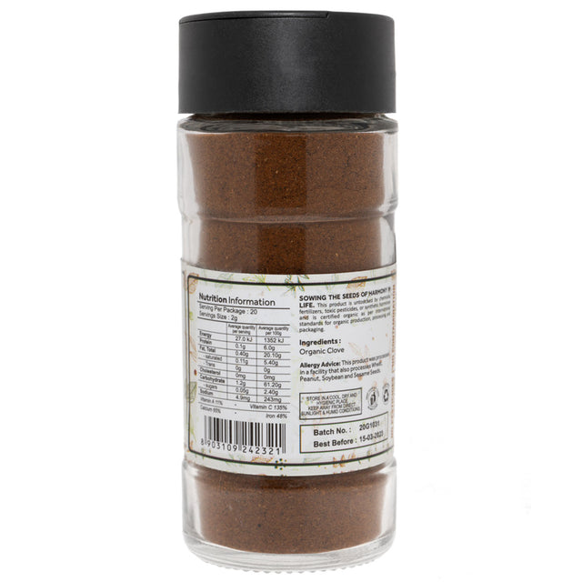 Down To Earth Organic Clove Powder