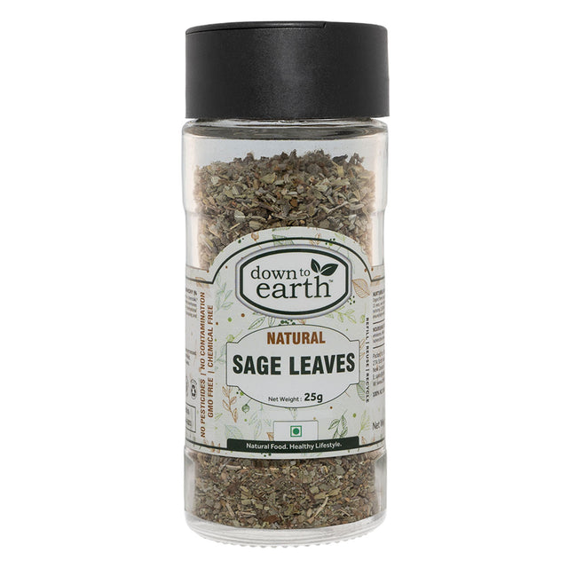 Down To Earth Natural Sage Leaves