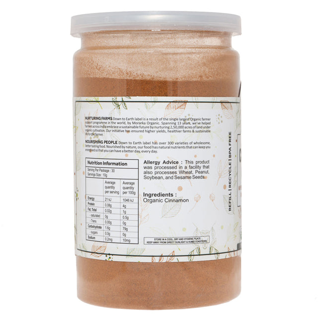 Down To Earth Organic Cinnamon Ground