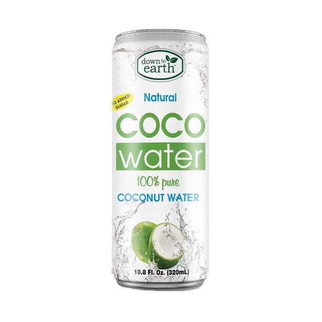 Down To Earth Natural Coconut Water