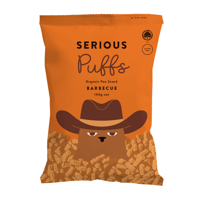 Serious Organic Puffs Barbecue