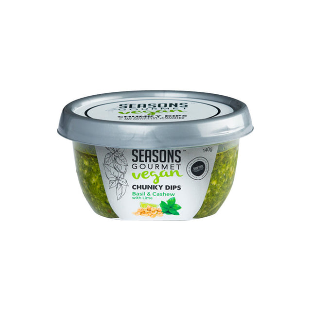 Seasons Gourmet Chunky Dips Basil & Cashew With Lime