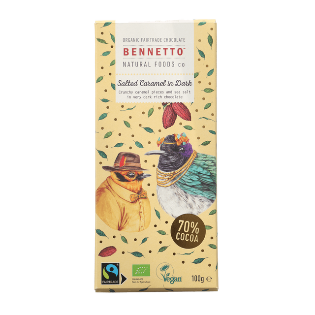 Bennetto Salted Caramel Dark Chocolate