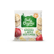Only Organic Banana & Apple Rice Cakes