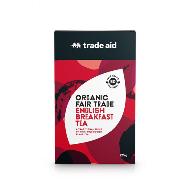 Trade Aid Organic English Breakfast Tea