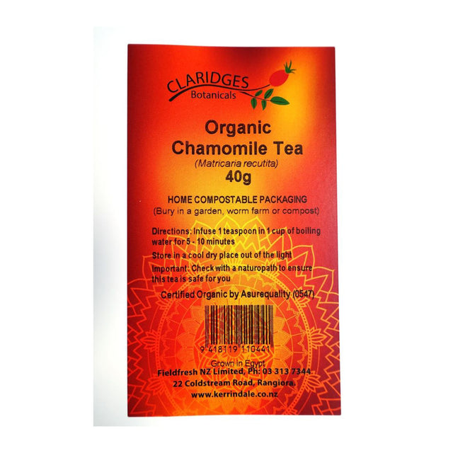 Claridges Organic Loose Chamomile Tea