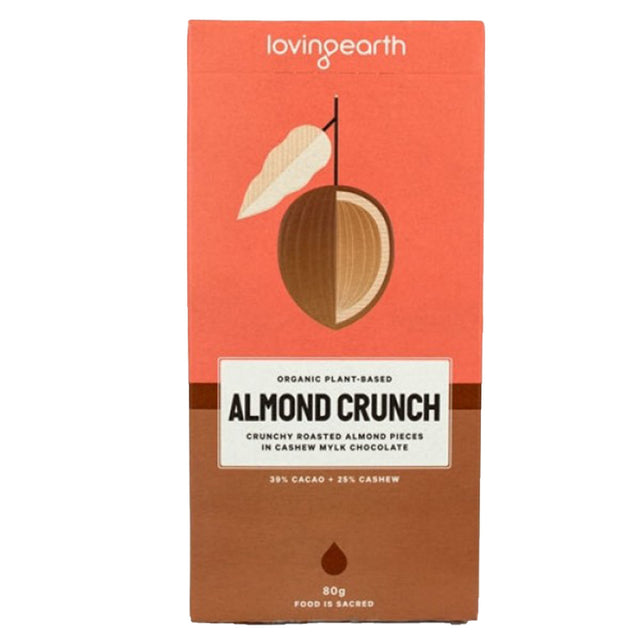 Loving Earth Almond Crunch Chocolate