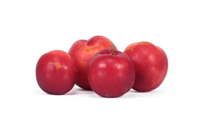 Organic Fortune Plums NZ