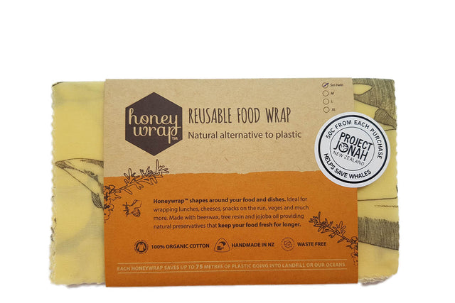Honeywrap Beeswax Wraps Small 2 pack
