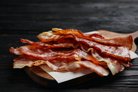 nitrites in bacon