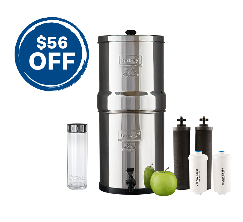 Big Berkey Fluoride Filter Bundle