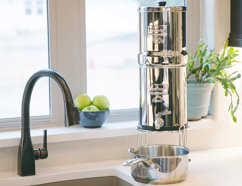 Berkey Water in Pot