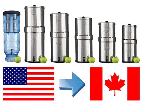 Can you ship a Berkey to Canada