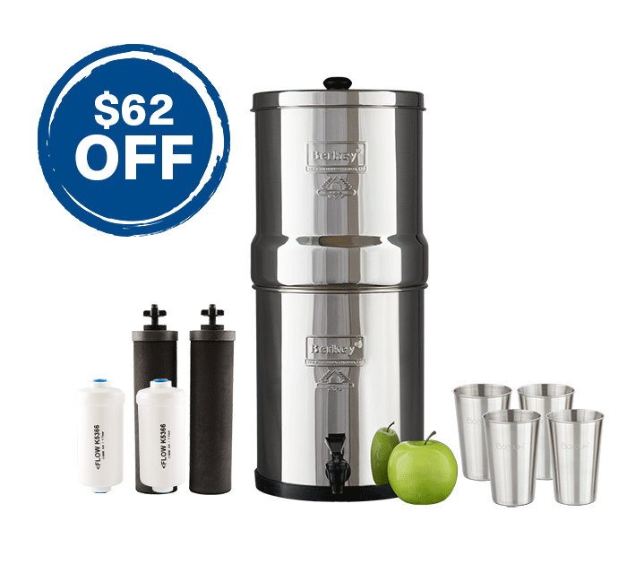 Big Berkey & Stainless Steel Spigot Bundle