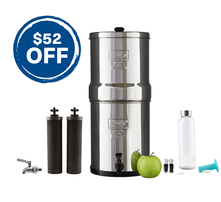 Big Berkey Stainless Steel Bundle