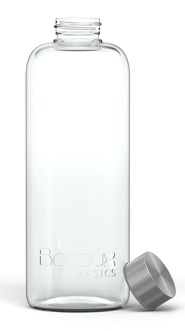 Boroux Basics Glass Water Bottle