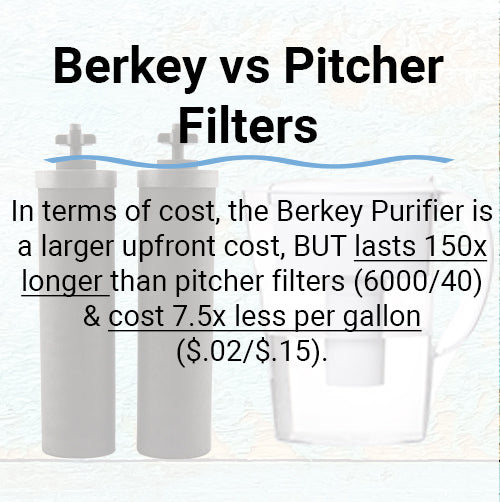 Berkey vs Pitcher Filters