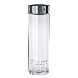 Boroux Original Glass Water Bottle