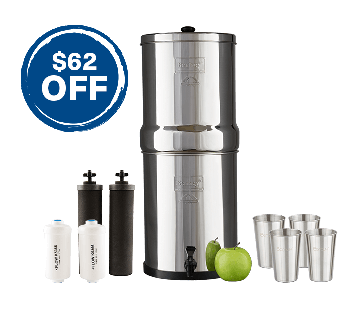 Royal Berkey Fluoride Filter Bundle