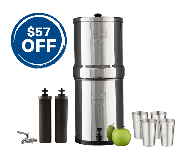 Royal Berkey & Stainless Steel Spigot Bundle
