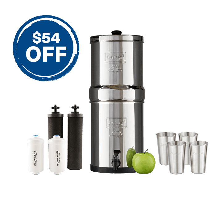 Travel Berkey Fluroide Bundle