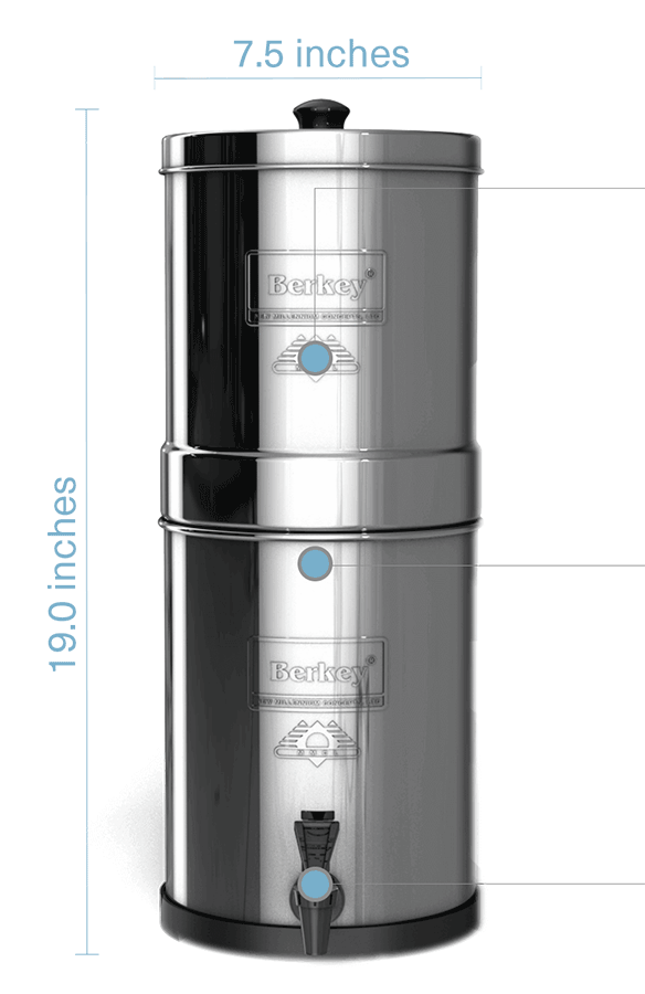 Travel Berkey Water Filter