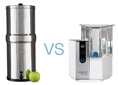 Berkey vs Aquatru water filters