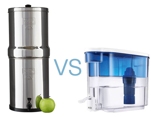 Berkey Filters vs Pur